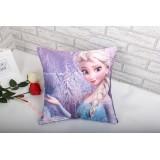 Wholesale - Frozen Princess Cartoon Duplex Printing Pillow with Pillow Inner -- Elsa
