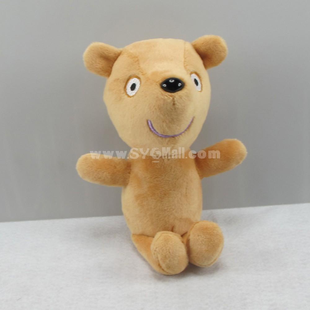 Peppa Pig Plush Toy Little Bear 19cm/7.5inch