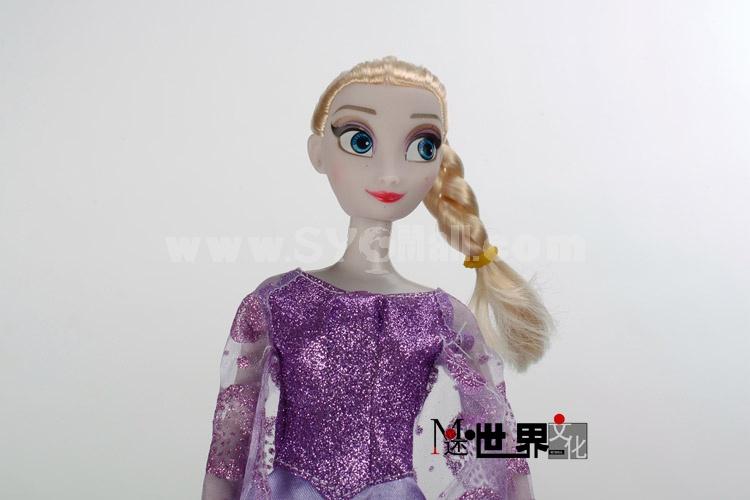 Frozen Princess Figures Toys Elsa with Different Dresses 3pcs/Set 33cm/13inch