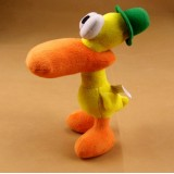 "wholesale - Pocoyo Figures Soft Stuffed Plush Doll Toy  - Pato 22cm/8.7"""