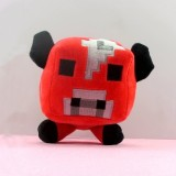 Wholesale - Minecraft Figures Plush Toy Stuffed Animal - Mooshroom 16cm/6.3""