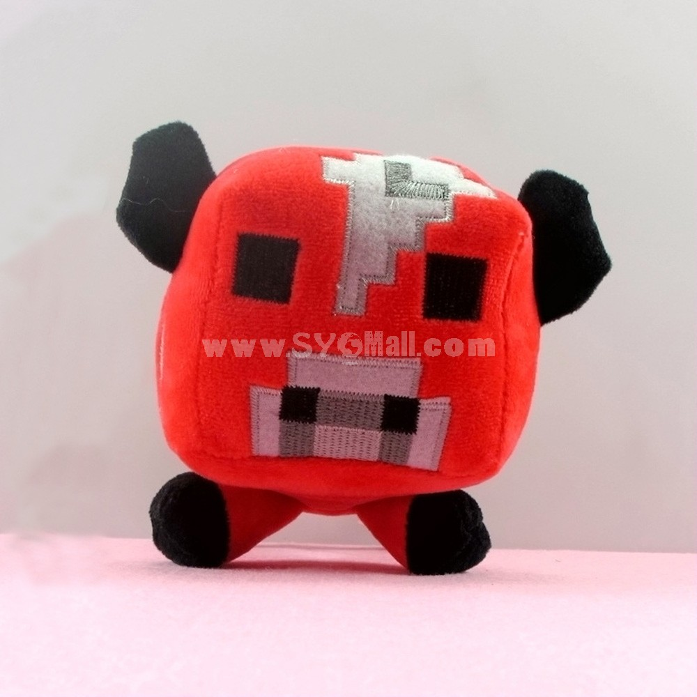 Minecraft Figures Plush Toy -- Mooshroom 16cm/6.3inch