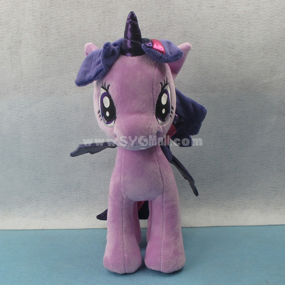 My Little Pony Figures Plush Toy -- Purple Twilight Sparkle 25cm/9.8inch