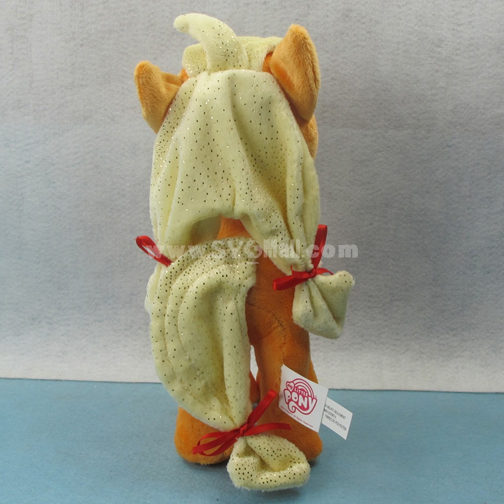 My Little Pony Figures Plush Toy -- Orange Applejack 25cm/9.8inch