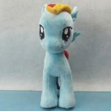 """wholesale - My Little Pony Figures Plush Toy - Blue Rainbow Dash 25cm/9.8"""""""