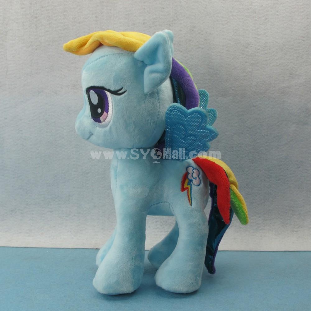 My Little Pony Figures Plush Toy -- Blue Rainbow Dash 25cm/9.8inch
