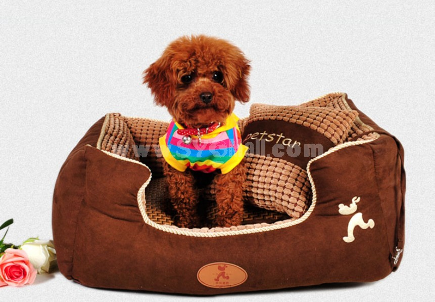 Cute Dog Bed Ultra Large Size Soft Breathable Machine Washable 120cm/47inch
