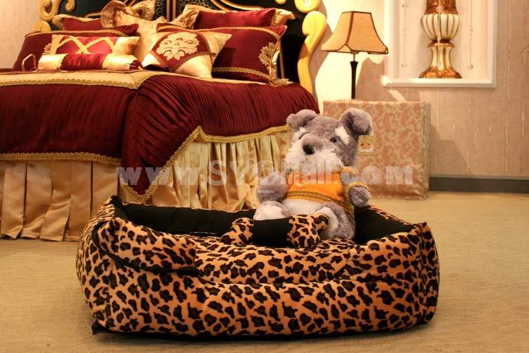 Cute Dog Bed Soft and Machine Washable Medium Size for Medium Pet 75cm/29inch
