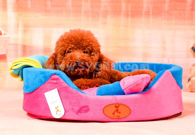 Cute Mini Dog Bed Soft and Machine Washable Mini Size 48cm/19inch