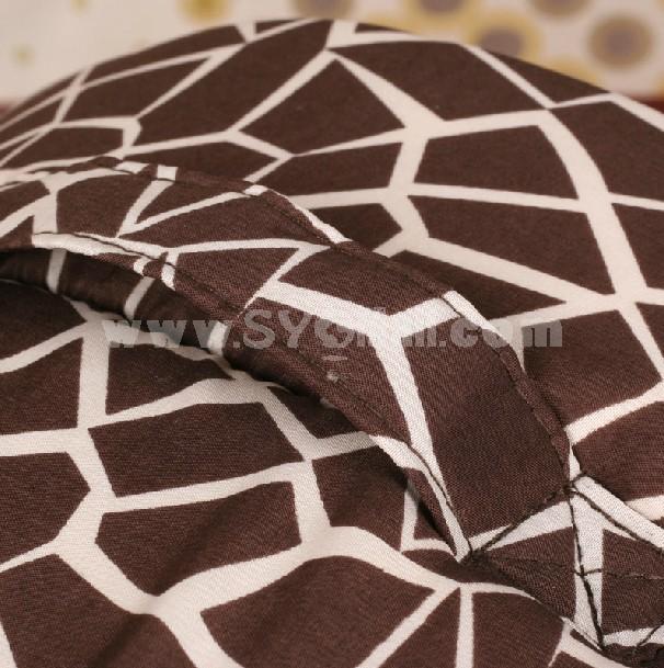 Dog Bed Yurt Shape Soft and Machine Washable Large Size 45cm/18inch