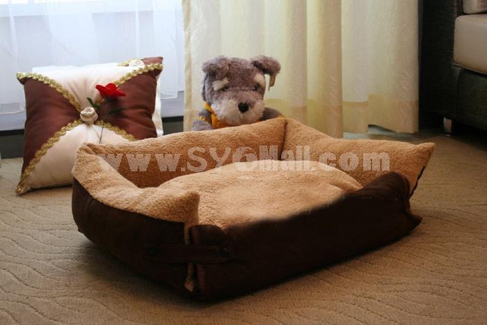 Sofa Dog Bed Multi-Function Soft and Machine Washable Medium Size 65cm/25inch