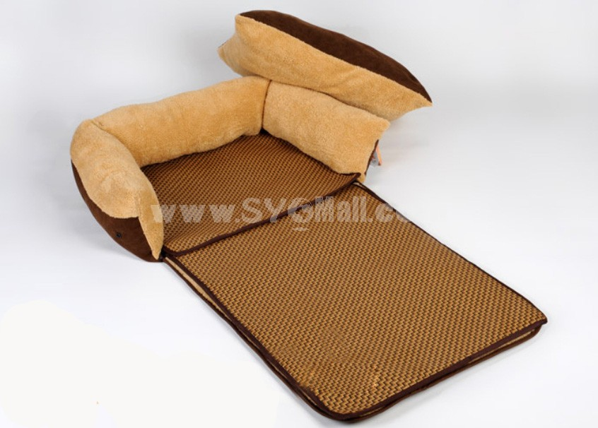 Sofa Dog Bed Multi-Function Soft and Machine Washable Large Size 75cm/29inch