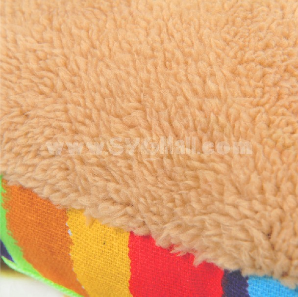 Double Side Colorful Pet Bed Machine Washable Large Size 100cm/39inch