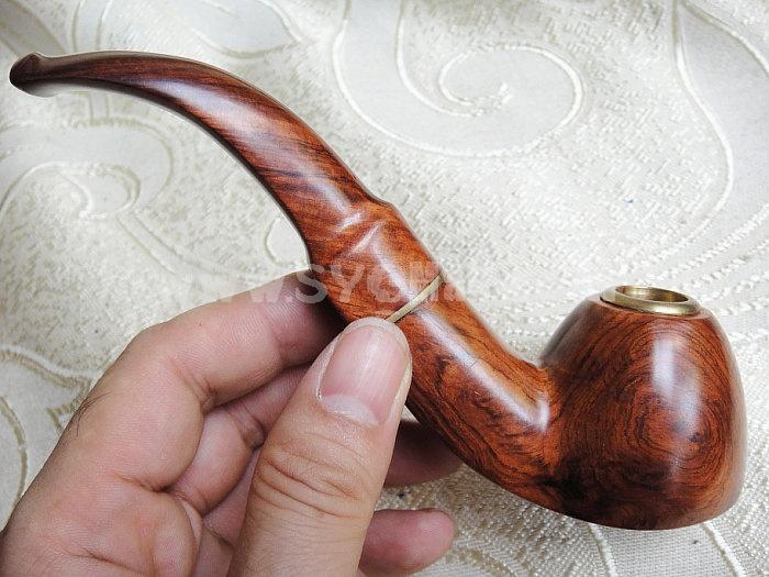 Hainan Chrysanthemum Pear Wood Pipe Handmade Wooden Pipe