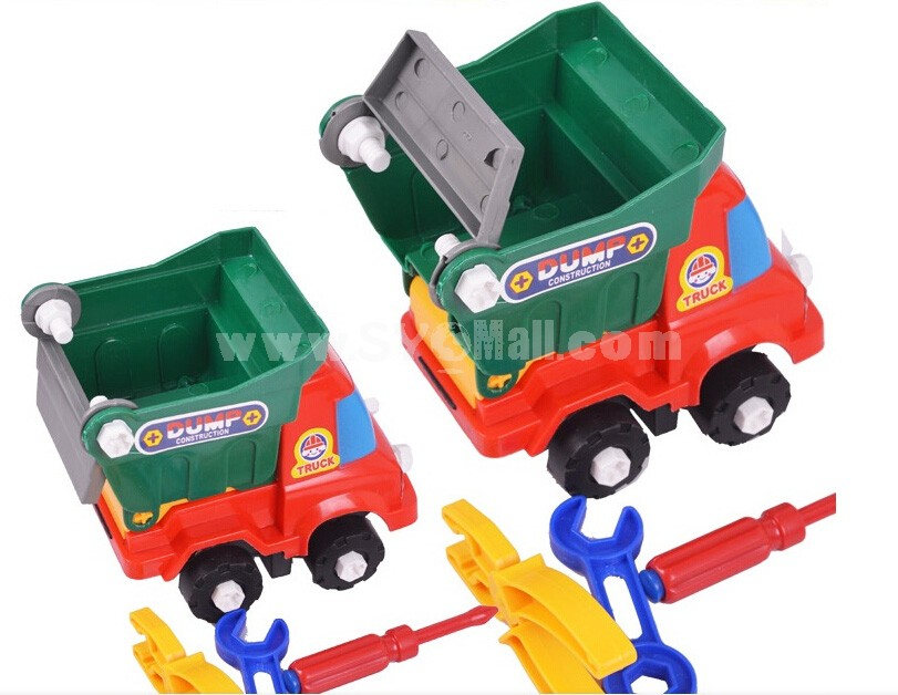 Assembly Toy Tipper/Excavator/Crane Children Blocks Educational Toy
