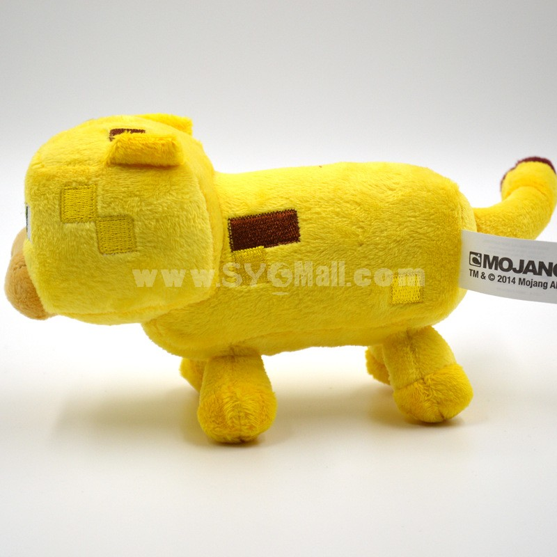 Minecraft Figures Plush Toy -- Oocelot 18cm/7.1inch