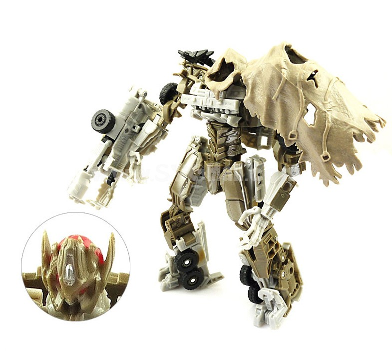 Transformation Robot Megatron Figure Toy Small Size 27cm/11inch