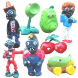 Wholesale - Plants vs Zombies PVZ Figures Toys 1st Generation 8pcs/Lot 1.5-3inch
