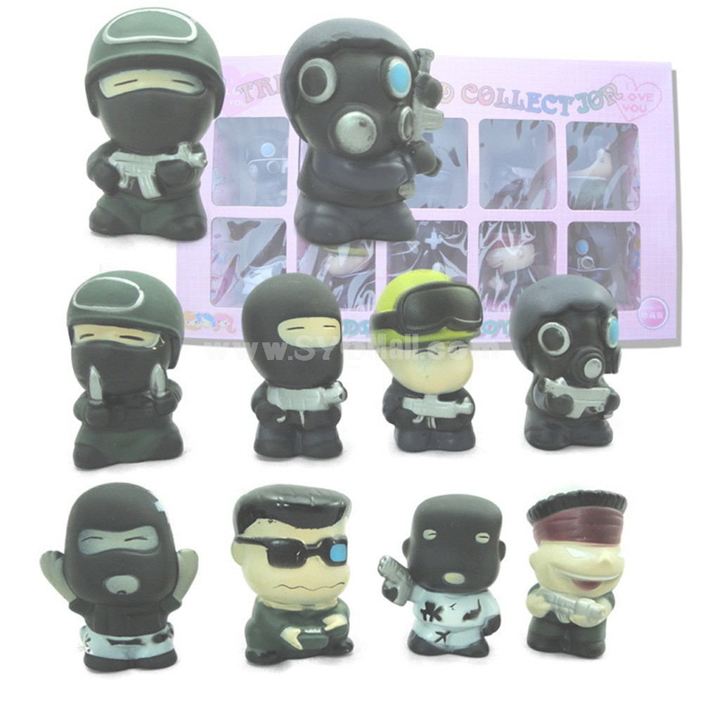 CS Figures Toys Vinyl Toys 10pcs/Lot 2inch
