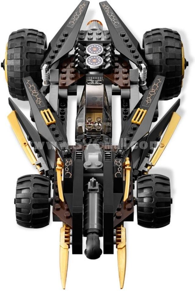 Ninja Thunder Swordsman 9759 Assembly Toy Car
