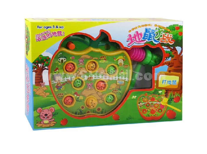 Electronic Mole Attack Toy Set