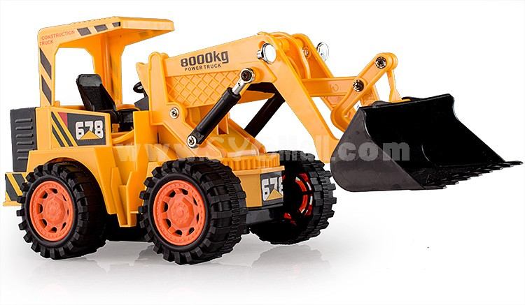 RC Remote Chargable Construction Truck Car Model-- Bulldozer