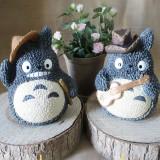 Wholesale - Totoro Figure Toy Piggy Bank Money Box ZH1312-6AB Flute/Guitar 15cm/5.9inch