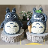 Wholesale - Totoro Figure Toy Piggy Bank Money Box ZH173-9 Straw hat/Umbrella 20cm/7.9inch