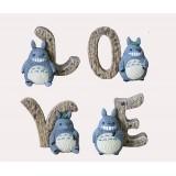 Wholesale - Love Letters Totoro Figure Toy Artware ZH173-5 -- Mushroom