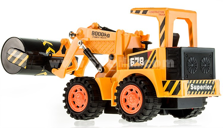 RC Remote Chargable Construction Truck Car Model-- Road Roller