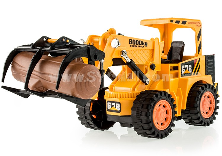 RC Remote Chargable Construction Truck Car Model-- Timber Grab