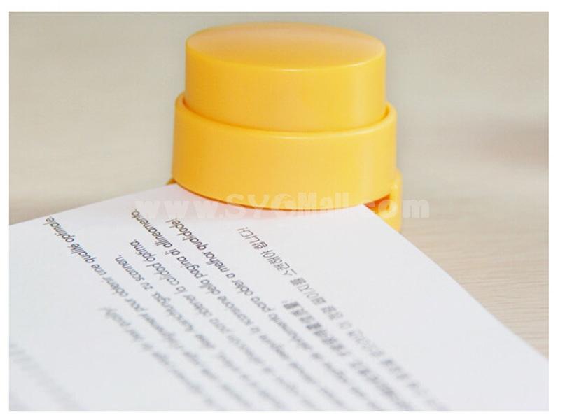 Eco-friendly Non-staple Book Sewer Stapler