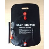 Wholesale - Outdoor Camping Solar Shower Bag Water Bag 20L/5 Gallons