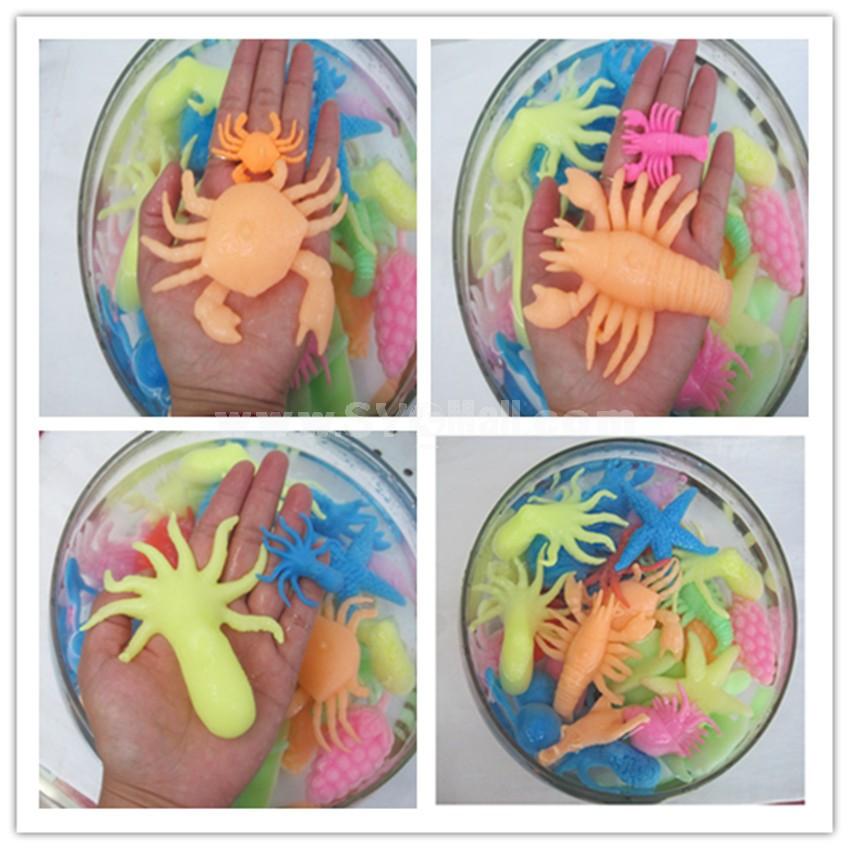 Water Growing Toys Growing Water Animals -- Sea Amnimals Large Size 50pcs/Lot