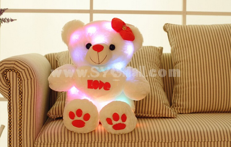 Sound Control Love Bear with Light Effect Plush Toy 65cm/25.6inch