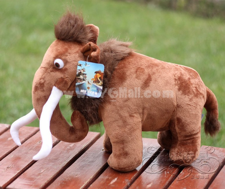 Ice Age Figure Plush Toy -- Manny 18cm/7.1inch