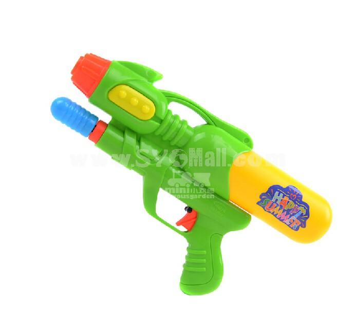 Plastic Water Gun Hand Pull Mini Size Water Pistol Water Blaster