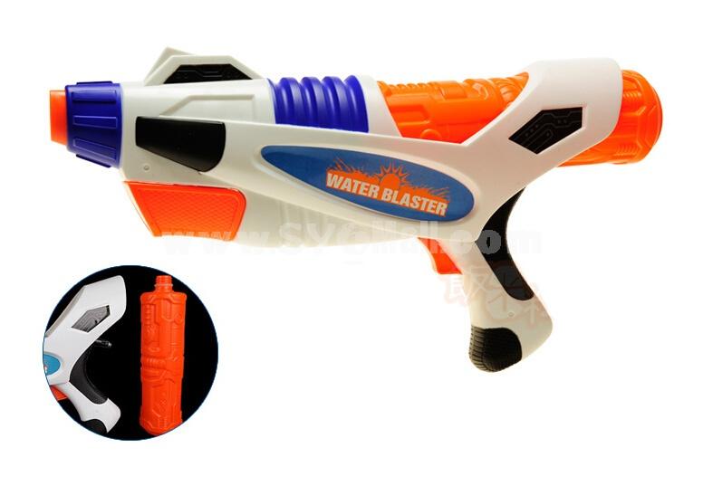 FANMILI Plastic Water Gun Hand Pull Water Pistol Water Blaster GT2000