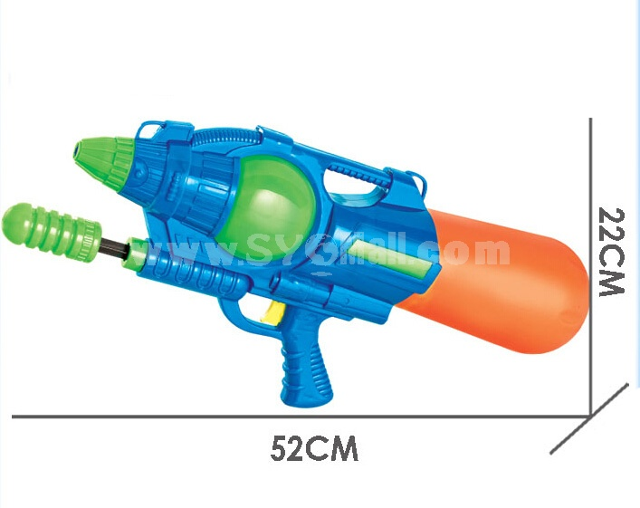 Plastic Water Gun Hand Pull Water Pistol Water Blaster 649