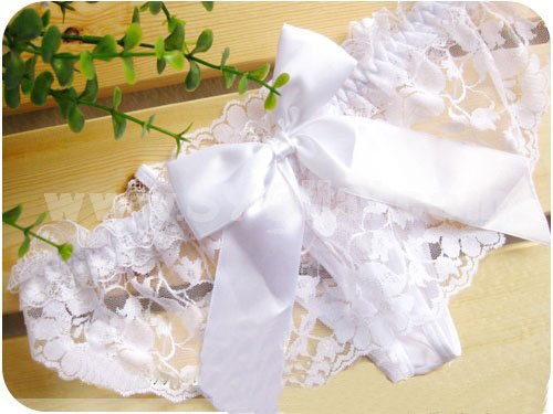 Lady Sexy Lace Transparent G-string Underpants Panties 5008