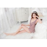 Lady Sexy Lingerie Set with G-string Tulle Transparent Nightwear 3018