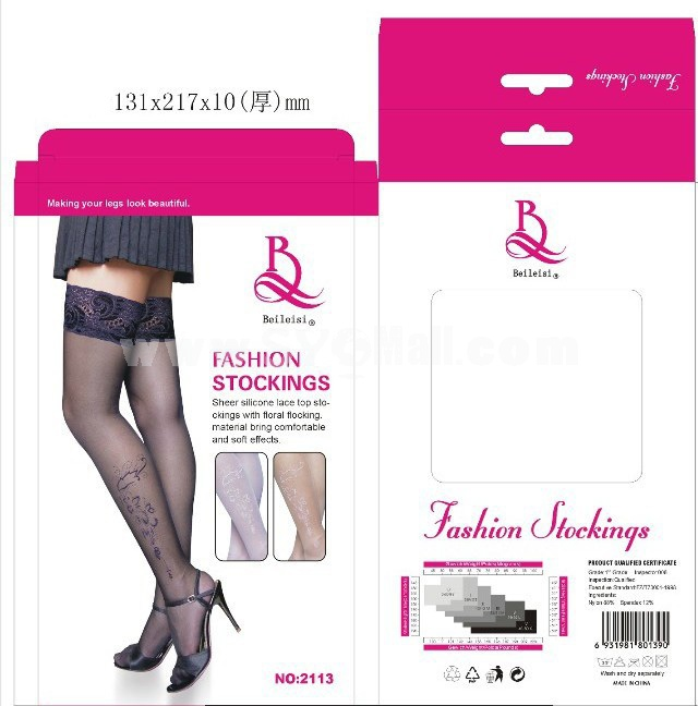 Sexy Stockings Sheer Lace Tigh Hights Stockings 2113