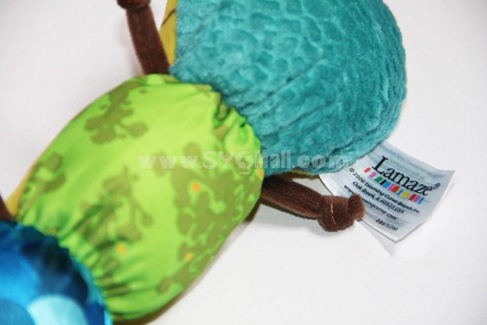 Lamaze Musical Inchworm Baby Rattle Toys Soft Mmusical Plush Toys