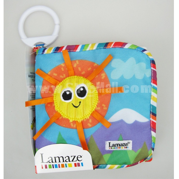 Lmaze Cloth Book Soft Book -- Sunflower