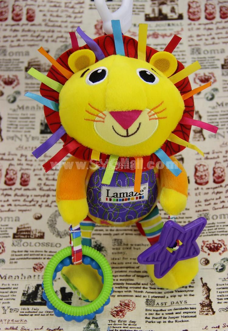 Lamaze Logan the Lion Play & Grow Musical Lion Lamaze Bedbell Toy