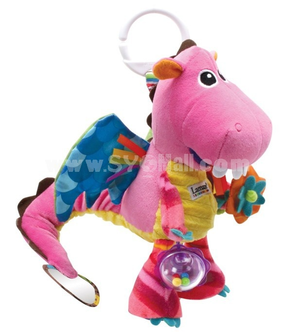 Lamaze Play & Grow Freddie the Firefly Take Along Toy Bedbell Toy-- Pink Dragon