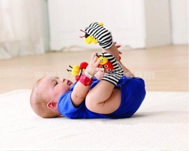 Lamaze Garden Bug Foot Finder Set Lamaza Baby Socks 1 Pair/Lot