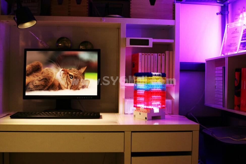 Lego DIY Block LED Night Light USB Lamp