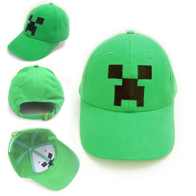 http://www.orientmoon.com/94291-thickbox/minecraft-creeper-baseball-cap-canvas-cap-cosplay-toy.jpg