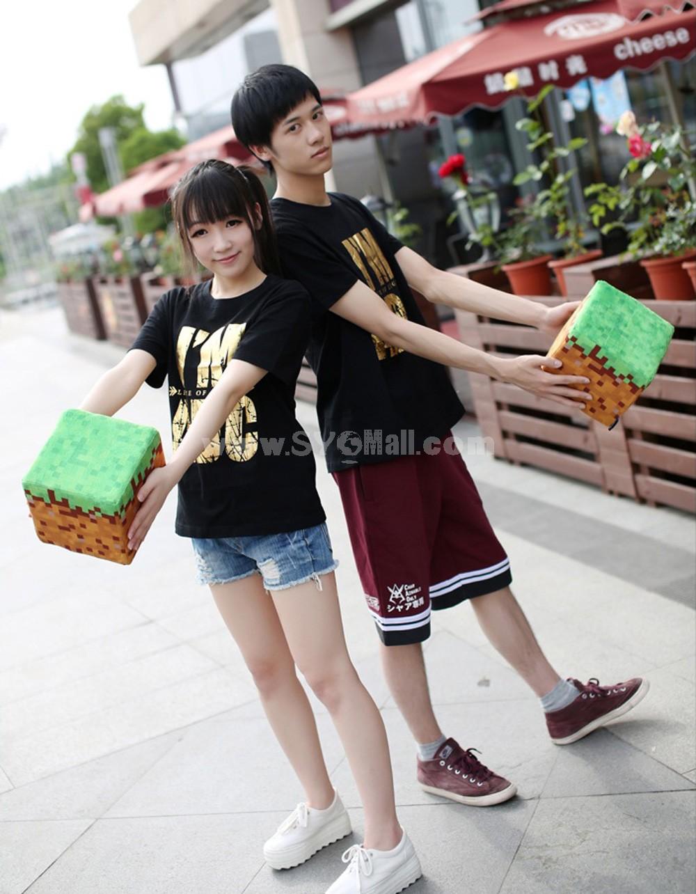 "Minecraft Grass Block Plush Toy 20cm/7.9"""